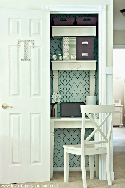 Chipping with Charm: 1 of 14 Ways to update your coat closet on Hometalk. www.chippingwithcharm.blogspot.com