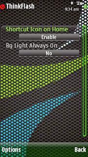 ThinkFlash app for Symbian S605th and Symbian^3