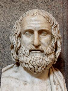 Busto de Eurípides