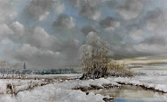 Lovely Winther Landscape