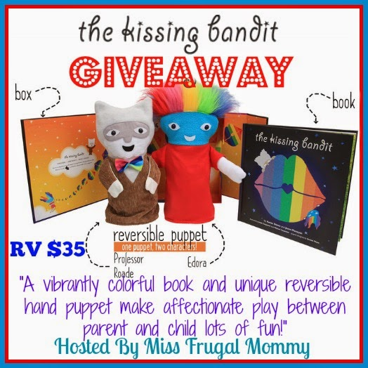The Kissing Bandit Giveaway