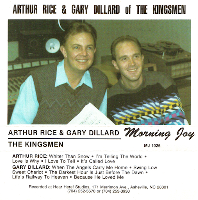 The Kingsmen Quartet-Arthur Rice And Gary Dillard-