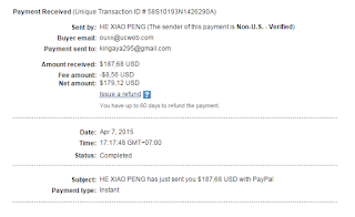 Payment Proof UC Union