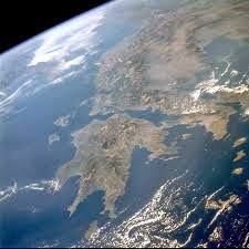 Φωτογραφία από διαστημικό σταθμό