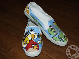 Angry Bird Shoes
