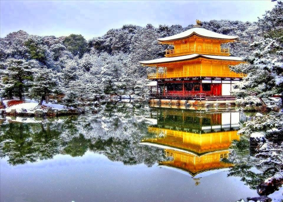 Risultati immagini per Padiglione d'Oro (Kinkakuji)