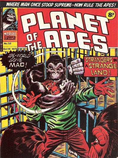 Planet of the Apes #52