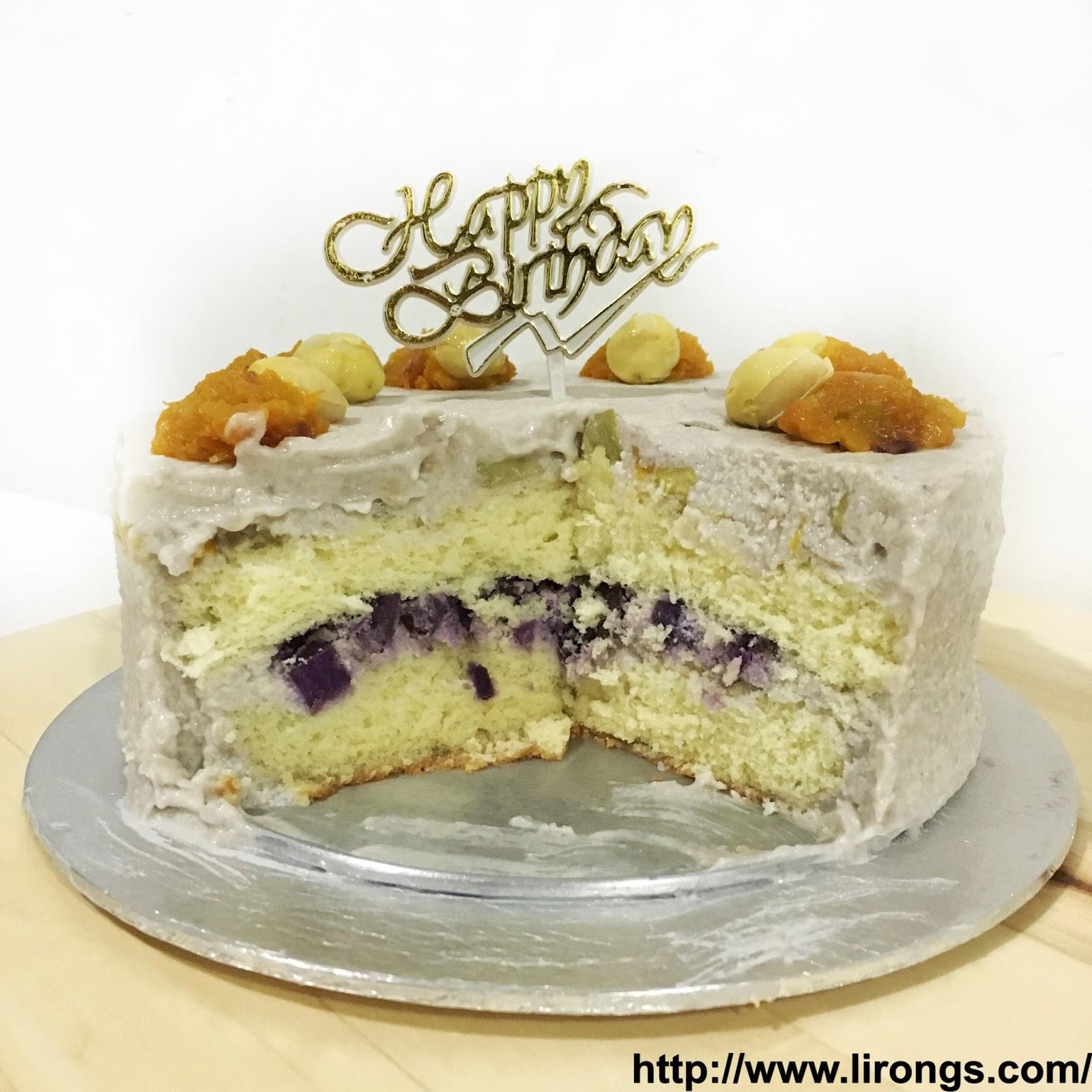 Lirong | A singapore food and lifestyle blog: Recipe: Orh Nee Cake