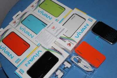 jual Power Bank Vivan M04 3500mAh