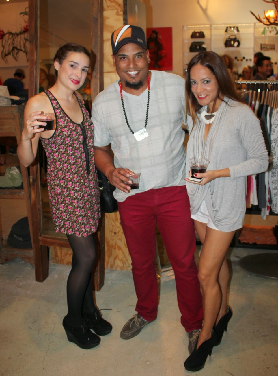 Alessandra Gold Concept Store Welcomes Lisu Vega's Collection with a Fashionable Fête