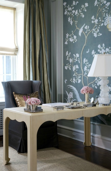 Belle maison inspiration snapshot classy feminine for Home office design inspiration