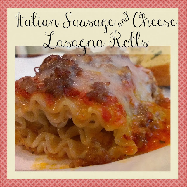 http://gloriouslymade.blogspot.com/2013/07/italian-sausage-and-cheese-lasagna-rolls.html