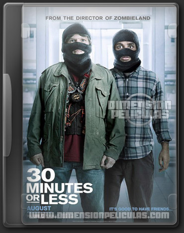 30 Minutes Or Less (DVDRip Inglés Subtitulado) (2011)