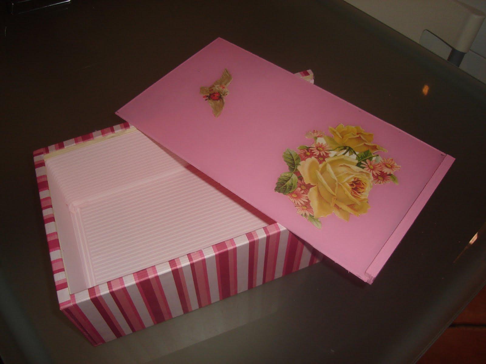 Manualidades de pepi caja de madera con decoupage - Manualidades con cajas de madera ...