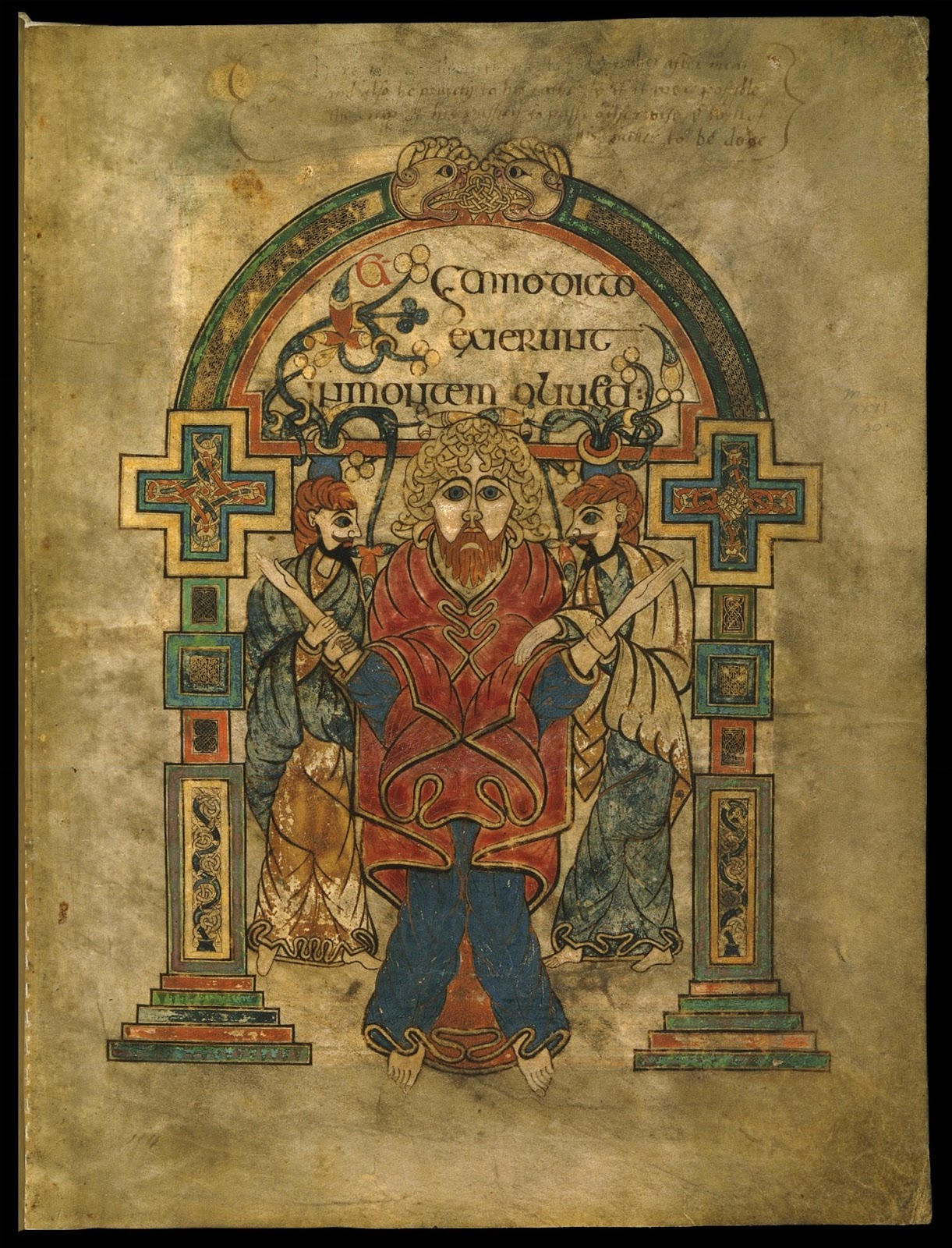 "facsimilium: The ""Leabhar Cheanannais"" or ""Book of Kells ..."
