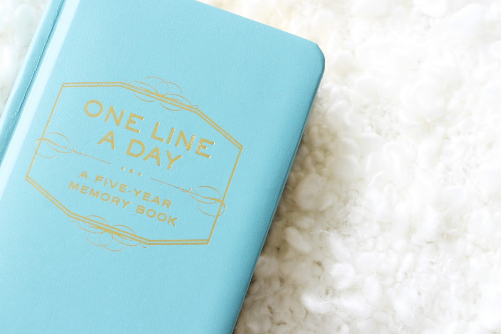 One Line A Day Memory Journal by Chronicle Books