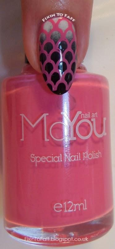 MoYou Nails Special Nail Polish swatch Pink