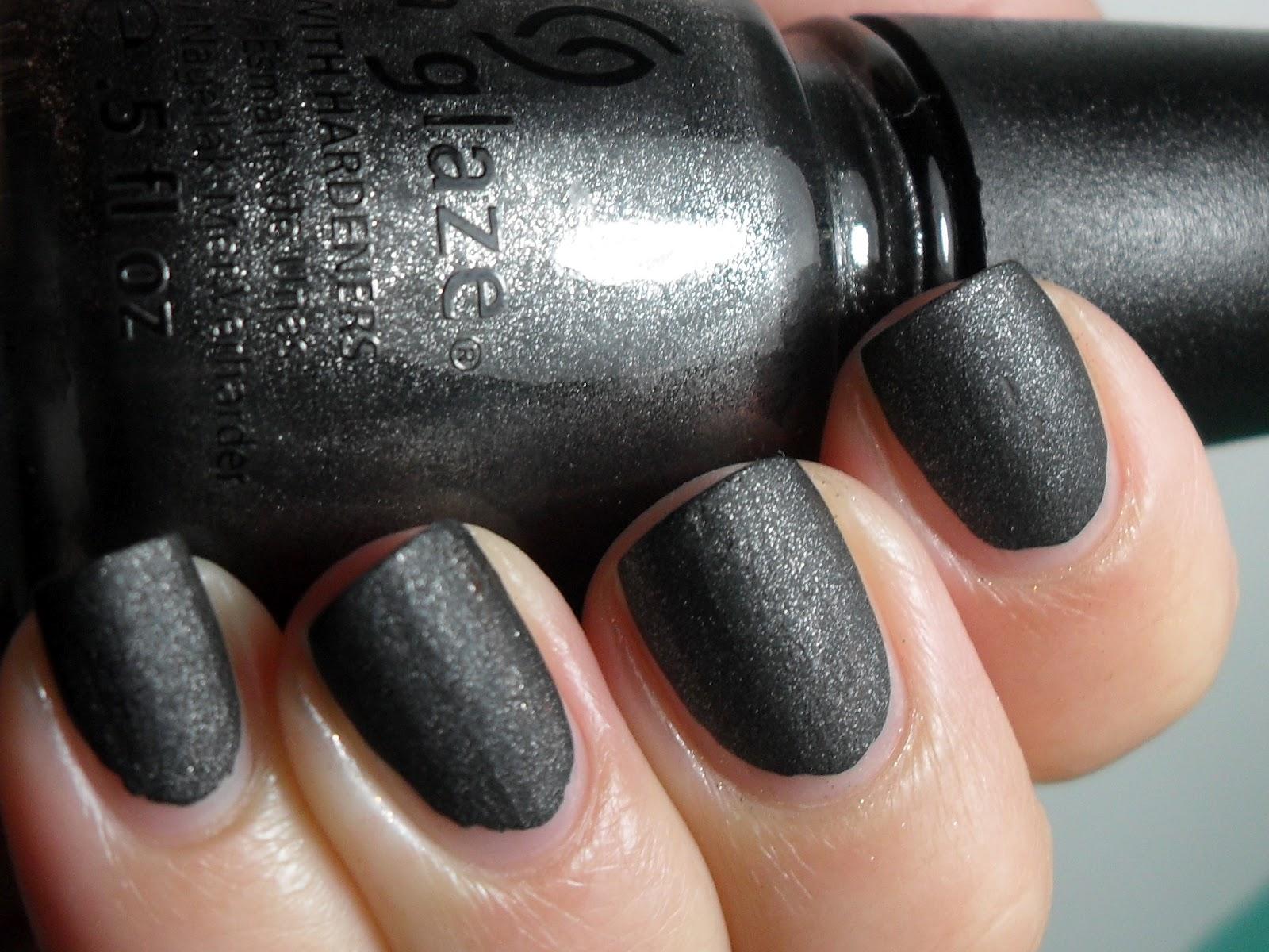 Polished Claws Up!: Layering Fun - China Glaze Stone Cold ...