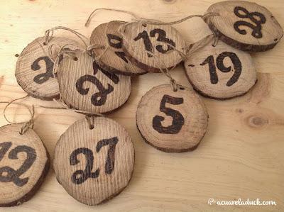 Meseros boda madera