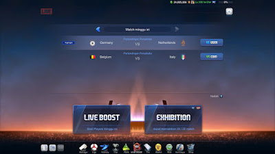 Live Mode Boost Exhibition Fifa Online 3