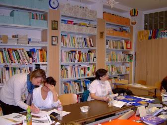 Szakvizsga a könyvtárban