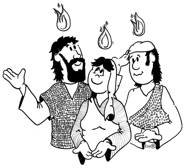 ensinanzaere: COLOREAR PENTECOSTÉS