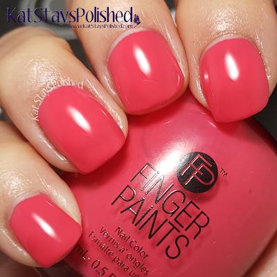 FingerPaints Tie Dye Revolution - Far Out Fuschia | Kat Stays Polished