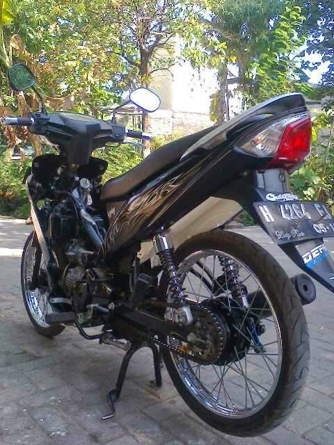 Kumpulan Photo Modifikasi full Motor Yamaha Vega ZR