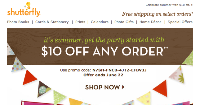 Fun Cheap Or Free Coupons Deals Shutterfly Coupon 10 Off Any Order