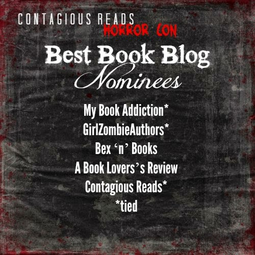 Contagious Reads Horror Con Nominee!