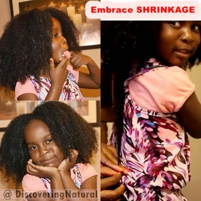 Natural Hair Shrinkage
