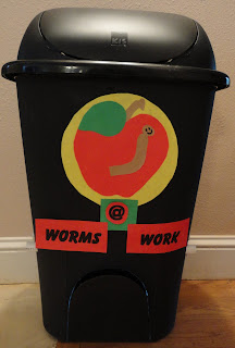 Flow through worm bin constructed by The Urge To Preserve.com