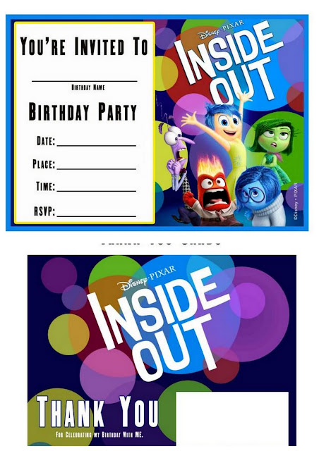 Inside Out Free Printable Invitations And Cards Is It For - Birthday invitations inside out