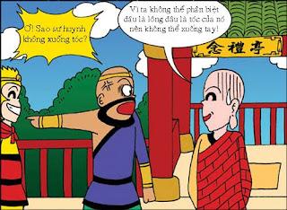 Tây Du Ký hài: Ngộ Không không xuống tóc