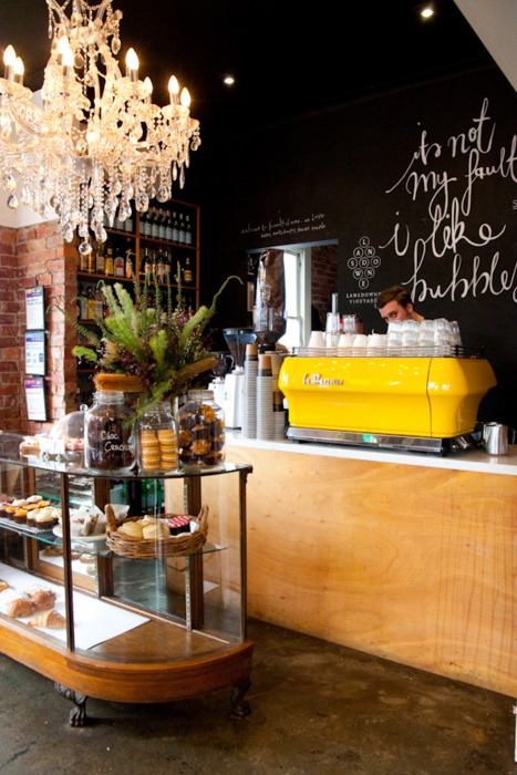 Tiffany leigh interior design coffee shop atmosphere for Bakery story decoration ideas
