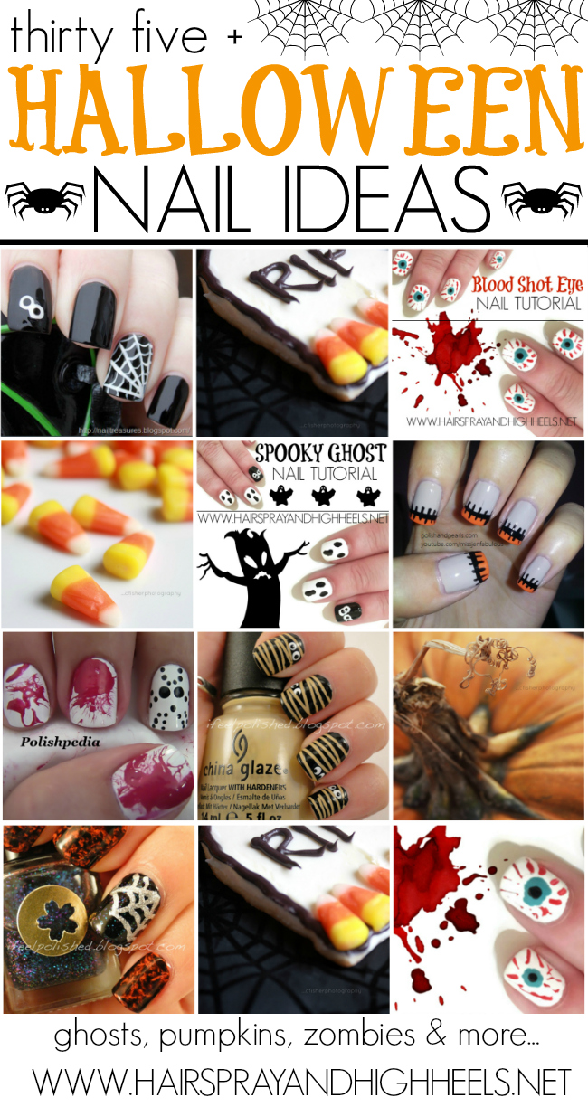 Halloween Nails #NOTD