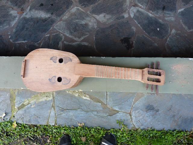 Hice mi propio instrumento musical y te lo muestro