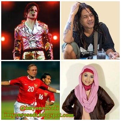 Michael Jackson, Tony Q, Sule, Fatin Shidqia