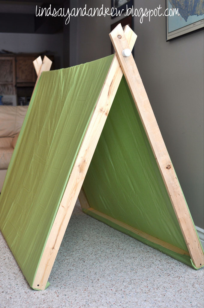 a frame pup tents