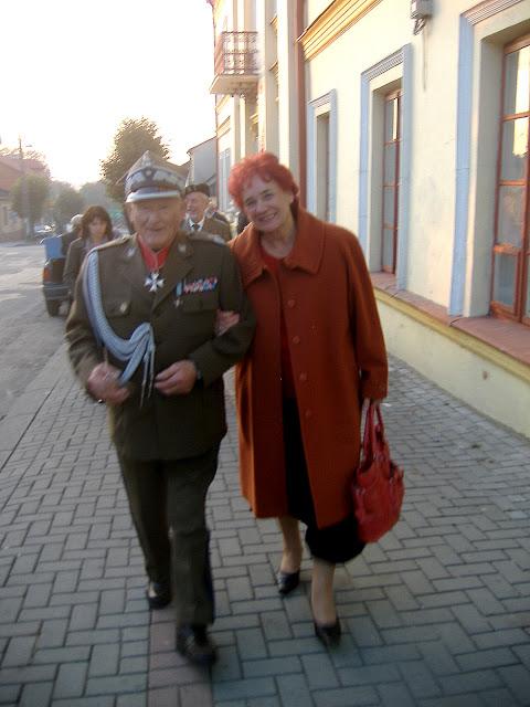 Generał Stanisław Burza-Karliński 2008 r. Fot. Paweł Grabalski.