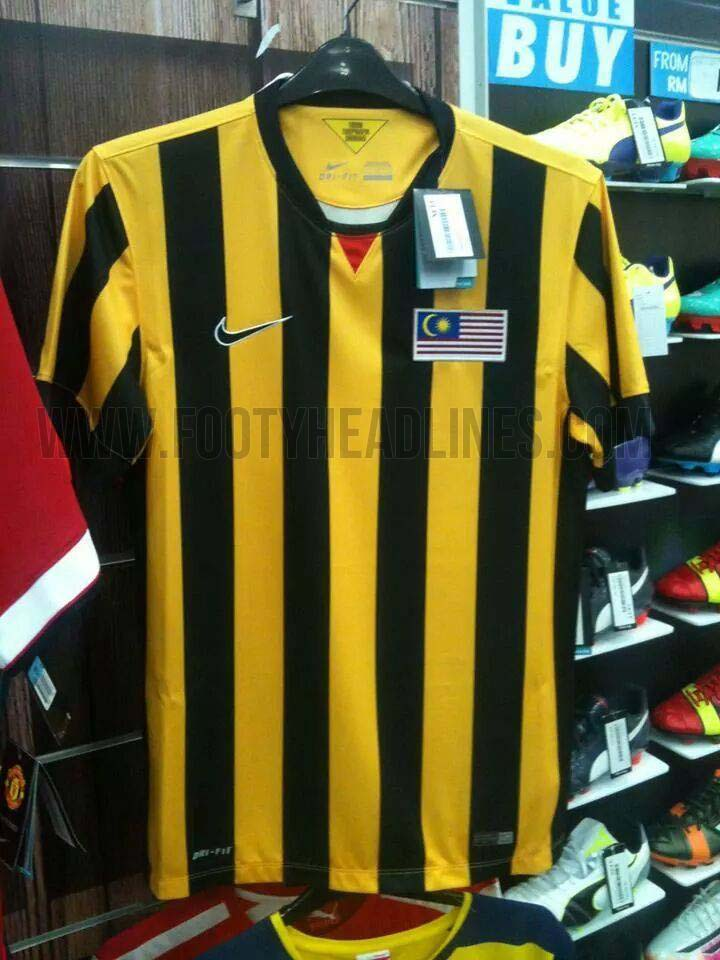 Nike Malaysia 2014 2015 Kits Released Footy Headlines