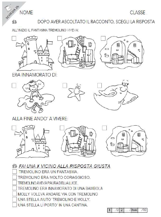 Schede ed attivit didattiche del maestro fabio per la scuola primaria classe - Gemelli diversi cosa vuoi testo ...