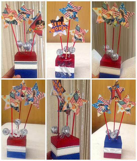 fourth of july tabletop decorations