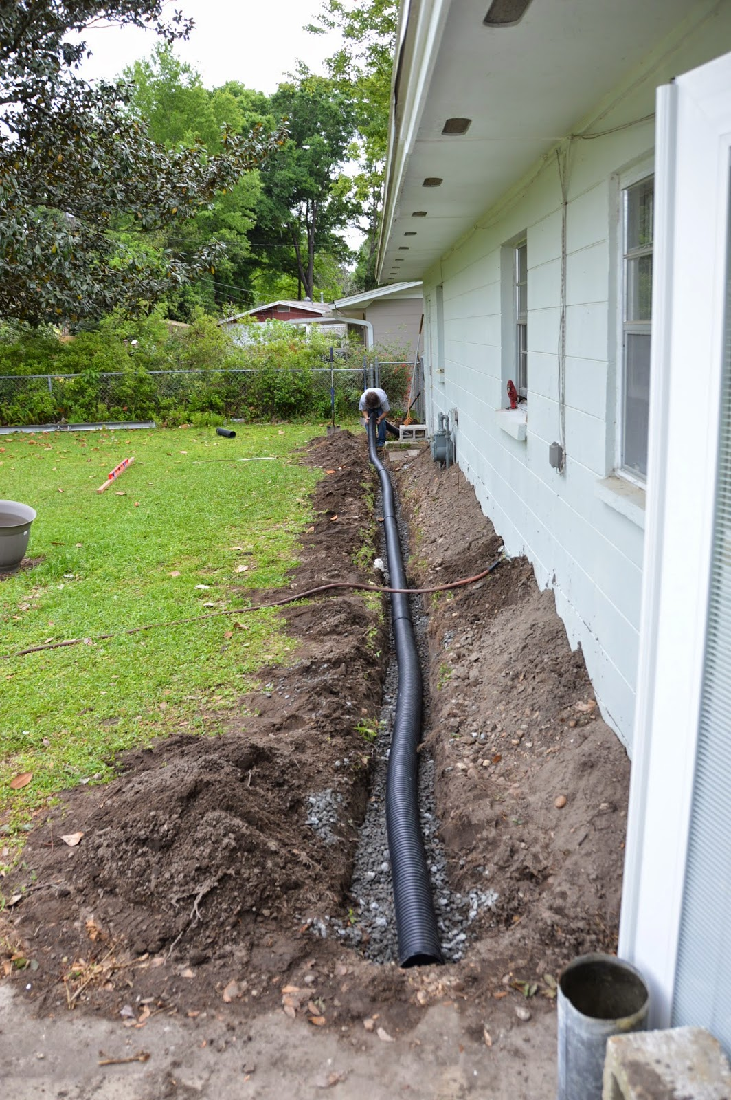 Tag blog french drain for French trench drain