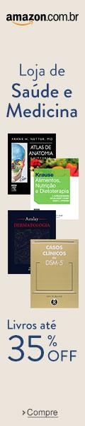 Livros de medicina com 35% de desconto