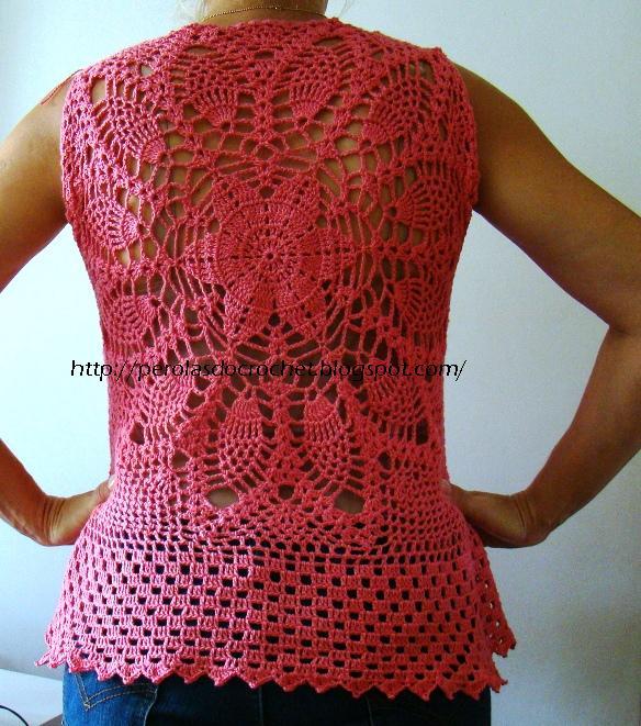P  Rolas Do Crochet  Blusa De Crochet