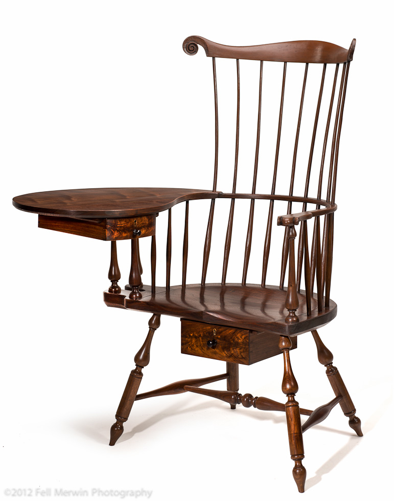 Antique Writing Chair