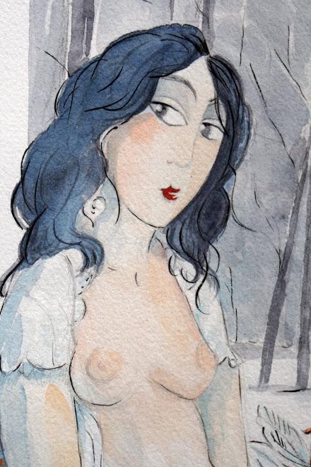 """"""" Mélancolie """" détail"""