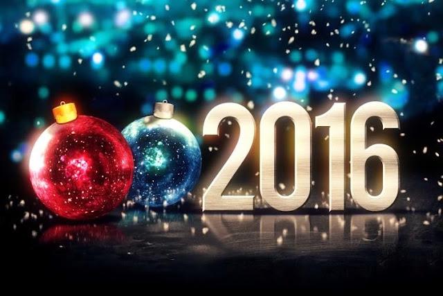 Top 10 Happy New Year 2016 HD Wallpaper