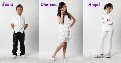 Josia, Chelsea dan Angel